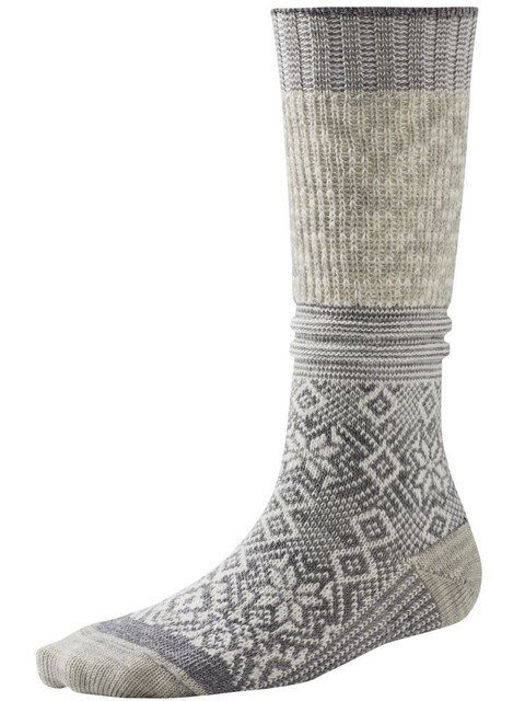 Smartwool W's Snowflake Flurry Socks Natural